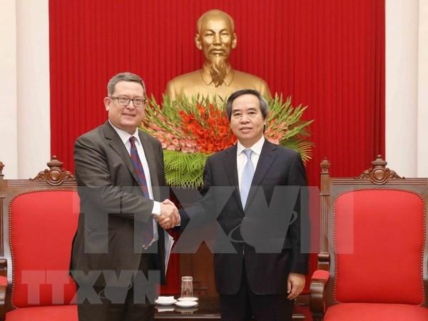 Estados Unidos, socio comercial de primera categoria de Vietnam hinh anh 1