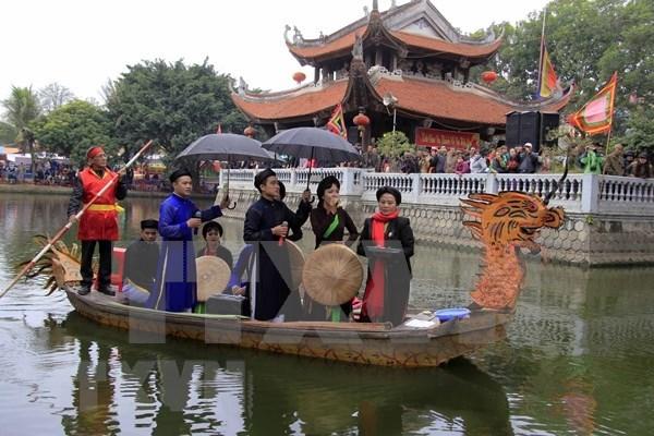 Celebraran en febrero Festival de Canto Folclorico de Vietnam hinh anh 1