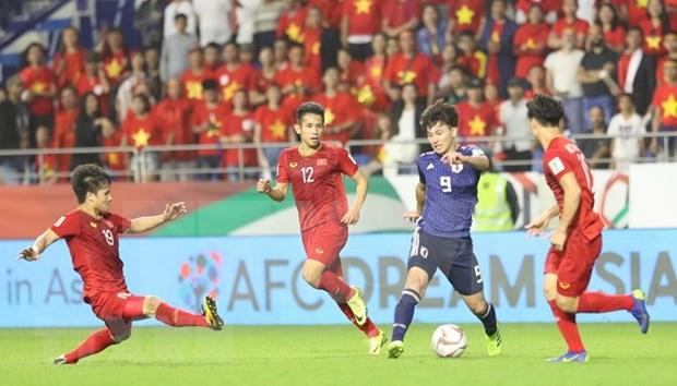 Destacan extraordinaria actuacion de jugadores vietnamitas en Copa Asiatica de futbol hinh anh 1