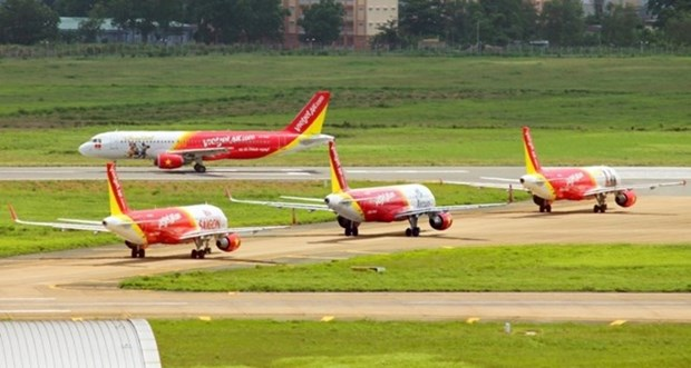 Ingresa aerolinea vietnamita Vietjet Air dos mil 260 millones de dolares en 2018 hinh anh 1