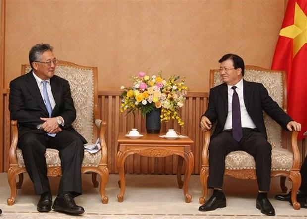 Resalta vicepremier de Vietnam cooperacion economica con Japon hinh anh 1