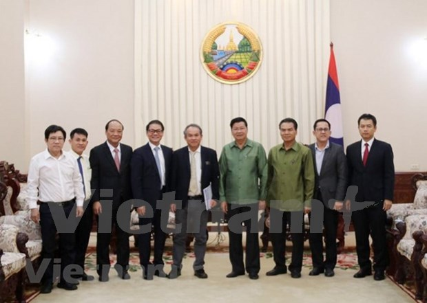 Facilitara Laos inversion vietnamita en agricultura hinh anh 1