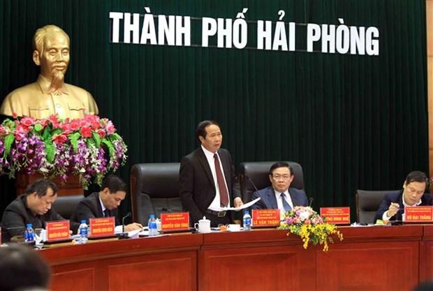 Ciudad vietnamita busca elevar eficiencia del uso de inversiones extranjeras hinh anh 1