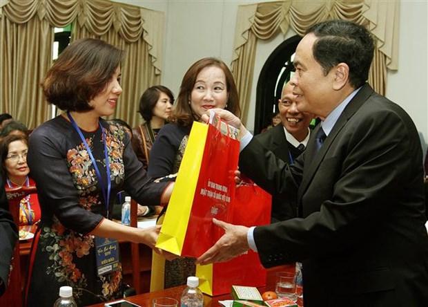 FPV continua forjando vinculos entre vietnamitas en ultramar y la patria hinh anh 1