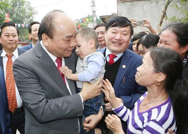 Premier vietnamita urge a provincia de Hung Yen a desarrollar parques industriales hinh anh 1