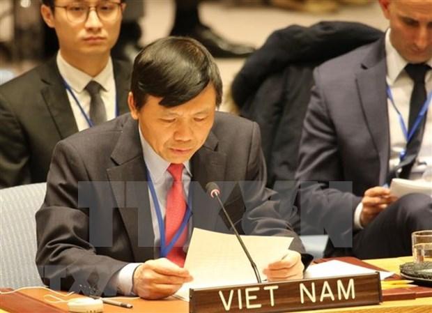 Llama Vietnam a impulsar consulta sobre vinculacion entre cambio climatico y seguridad hinh anh 1