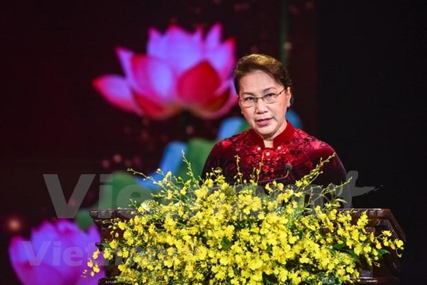 Entregan premios del concurso sobre el fortalecimiento del Partido Comunista de Vietnam hinh anh 1