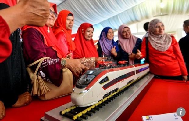 Malasia cancela proyecto ferroviario de China hinh anh 1