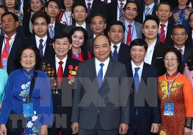 Recibe Premier a viet kieu en ocasion del Nuevo Ano Lunar hinh anh 1