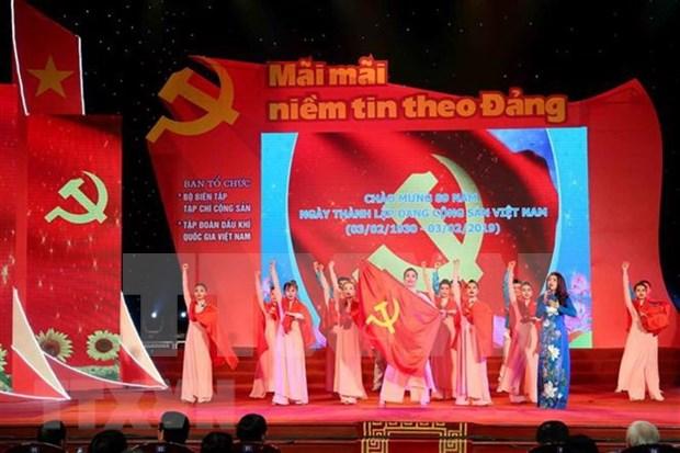 Conmemoran en Vietnam 89 aniversario de Fundacion del Partido Comunista hinh anh 1