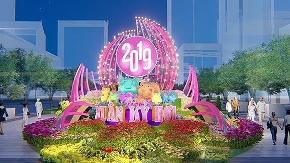 Se celebraran en Ciudad Ho Chi Minh numerosas actividades en ocasion del Tet hinh anh 1