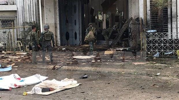 Vietnam condena energicamente ataque con bombas en Filipinas hinh anh 1