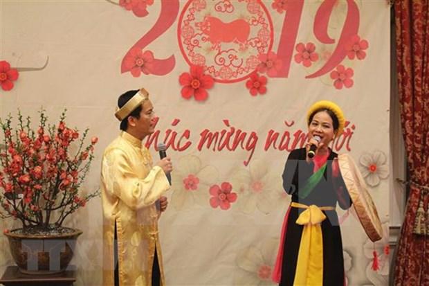 Celebran fiestas del Tet comunidades vietnamitas en diversos paises hinh anh 1