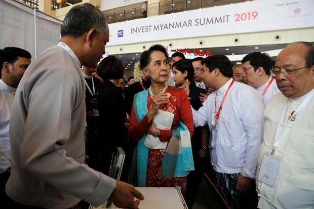 Promueve Myanmar incremento de la inversion extranjera hinh anh 1