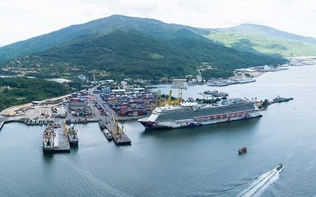 Inauguran ruta de transporte naval directa entre puerto de Vietnam y Japon hinh anh 1