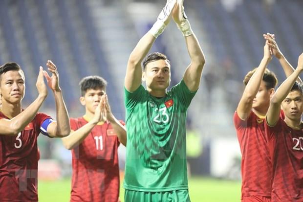 Eligen a dos vietnamitas en equipo de elite de cuartos de final de Copa Asiatica hinh anh 1