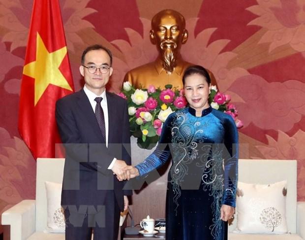Aboga presidenta del Parlamento de Vietnam por mayor cooperacion con Fiscalia Suprema de Corea del Sur hinh anh 1