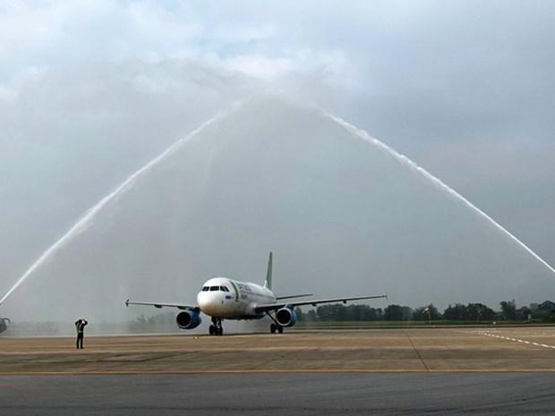 Abre Bamboo Airways ruta aerea entre Ciudad Ho Chi Minh y la provincia central de Thanh Hoa hinh anh 1