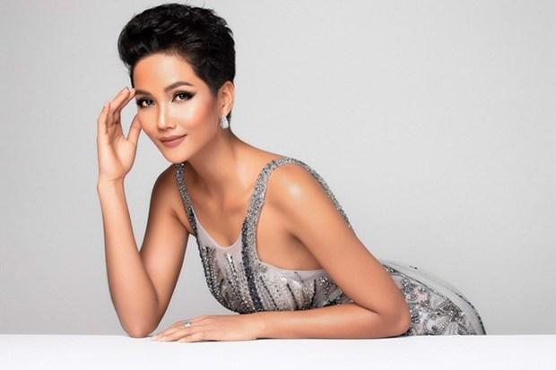 Confieren a la vietnamita H'Hen Nie titulo de Belleza Intemporal 2018 hinh anh 1