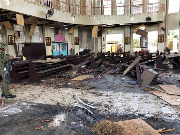 Al menos dos muertos en Filipinas tras ataque con granada contra una mezquita hinh anh 1