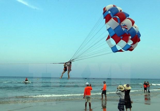 Preve Da Nang alto incremento del turismo en asueto del Ano Nuevo Lunar hinh anh 1