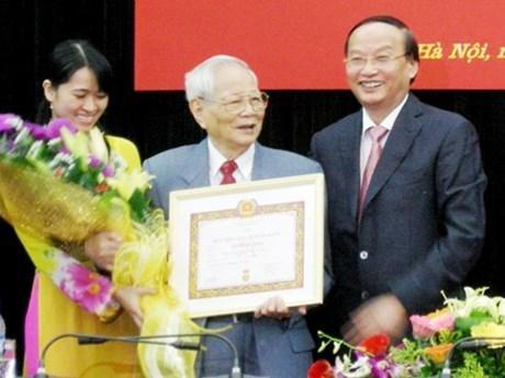 Fallecio Nguyen Duc Binh, ex miembro del Buro Politico del Partido Comunista de Vietnam hinh anh 1