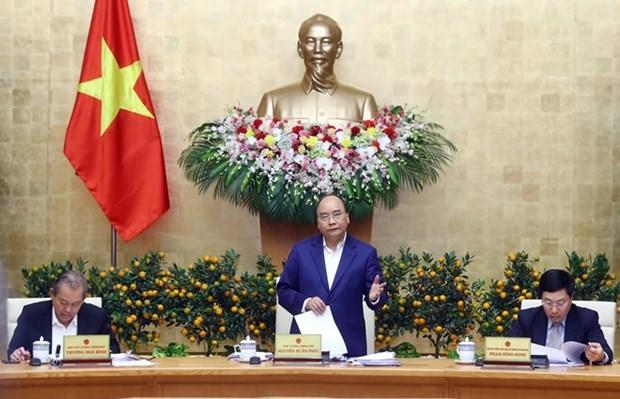 Exhorta Premier vietnamita a garantizar un Tet feliz para toda la poblacion hinh anh 1