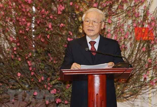 Resalta maximo dirigente vietnamita logros socioeconomicos en 2018 hinh anh 1