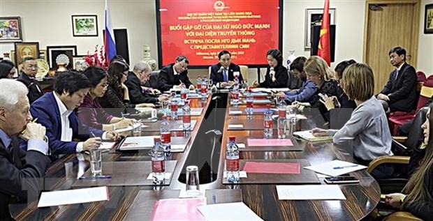 Destaca embajador vietnamita en Rusia desarrollo de las relaciones bilaterales hinh anh 1