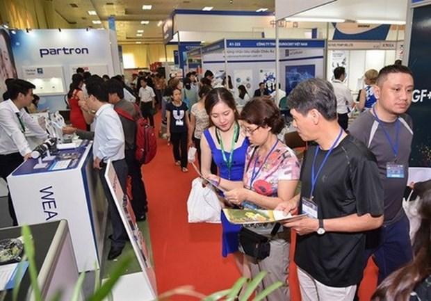 Presentaran nuevos productos tecnologicos en Vietnam Expo 2019 hinh anh 1