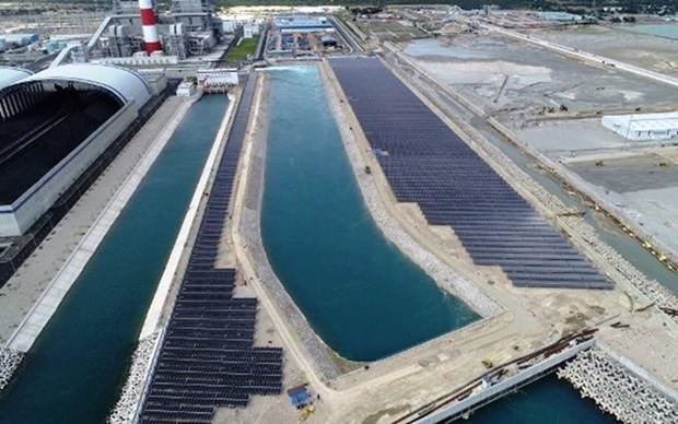 Conectada al sistema nacional planta de energia solar en Binh Thuan hinh anh 1