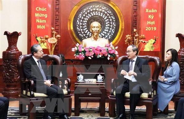 Convocan en Vietnam a asimilar experiencias de administracion de ciudades chinas hinh anh 1