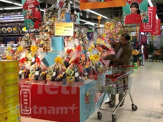 Reportan en Vietnam alto crecimiento de las ventas minoristas en enero hinh anh 1