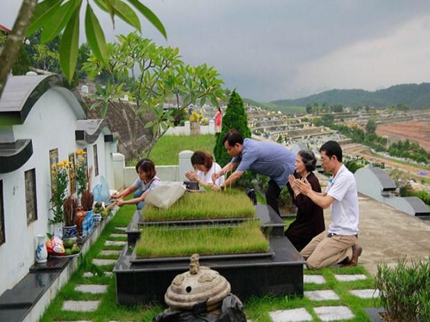 Tributo a ancestros, hermosa tradicion vietnamita hinh anh 1