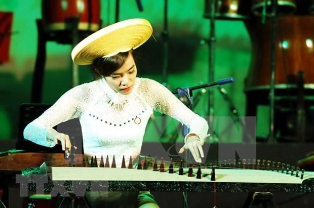 Preserva maestra Pham Thuy Hoan instrumento de musica folklorica vietnamita hinh anh 1