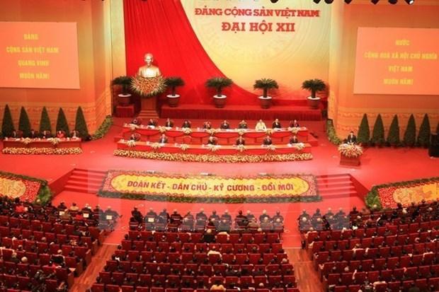 Laos y Camboya felicitan al Partido Comunista de Vietnam por aniversario de su fundacion hinh anh 1
