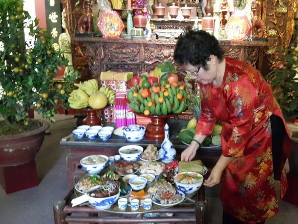 El ultimo dia del ano lunar hinh anh 1