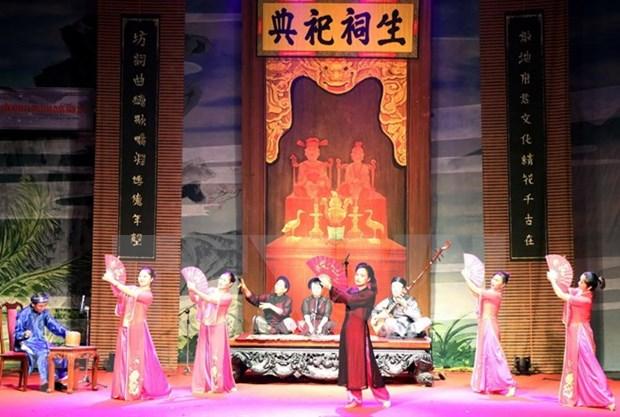 Ca Tru, un canto ceremonial de Vietnam hinh anh 1