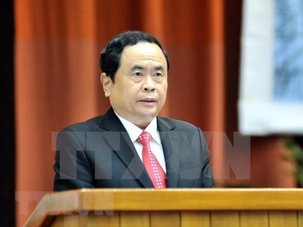 Frente de Patria de Vietnam trabaja para fomentar la gran unidad nacional hinh anh 1