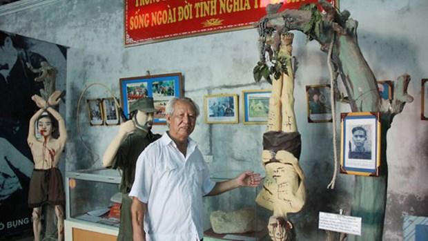 Veterano vietnamita y su museo de recuerdos de la guerra hinh anh 1