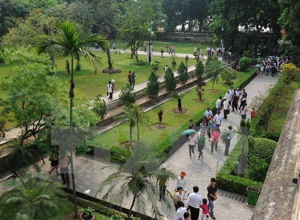 El conjunto de vestigios de la Ciudadela Imperial de Thang Long – Hanoi hinh anh 1