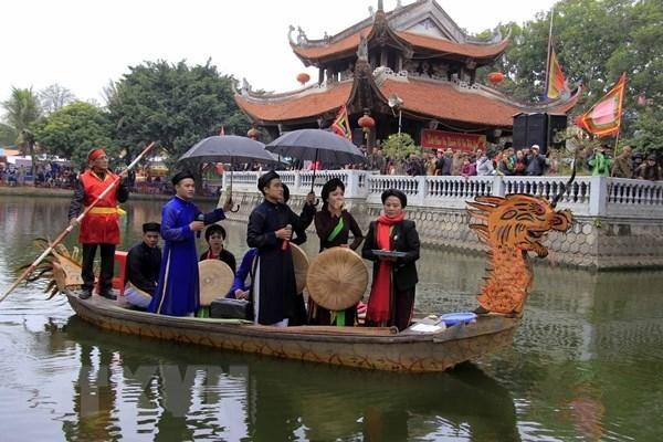 Cantos populares Quan ho de Bac Ninh hinh anh 1