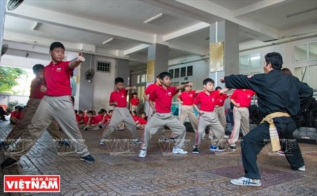 Autodefensa en escuelas con artes marciales vietnamitas tradicionales hinh anh 1