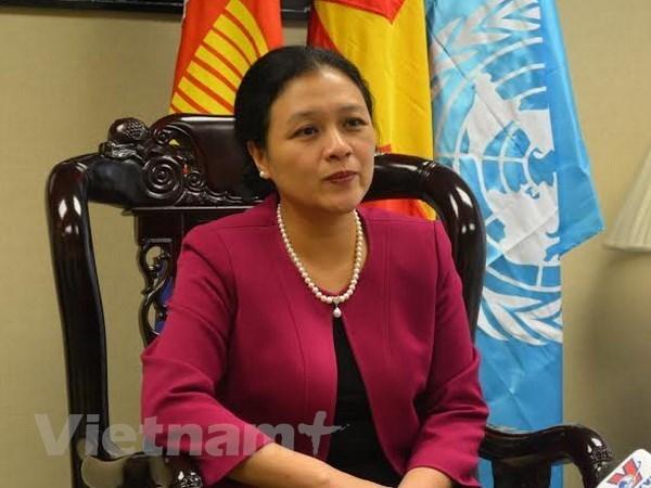Vietnam consolidara la diplomacia del pueblo hinh anh 1