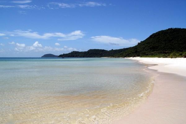 Hermosa playa de Bai Sao en isla vietnamita de Phu Quoc hinh anh 1