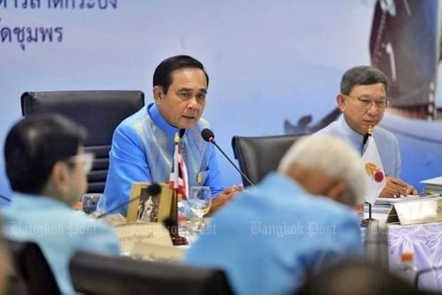 Miles candidatos registran a elecciones generales en Tailandia hinh anh 1