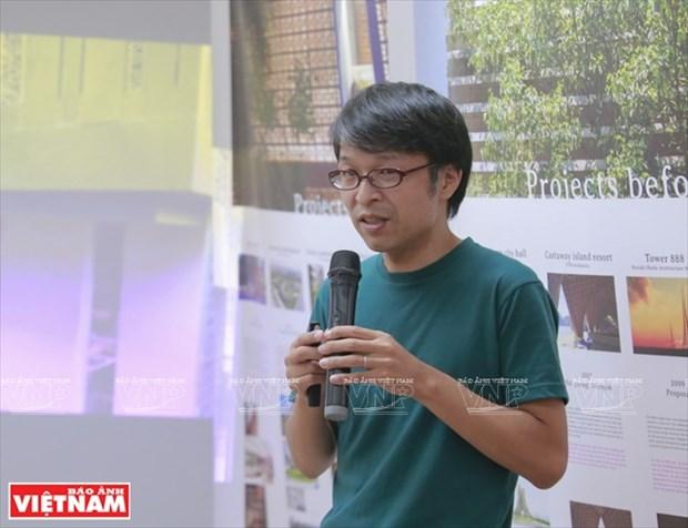 Takashi Niwa, arquitecto de los edificios verdes hinh anh 1