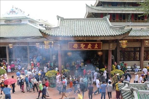 Provincia survietnamita de An Giang apunta recibir a mas de 714 mil turistas durante vacaciones de Tet hinh anh 1