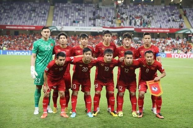Vietnam figura entre los 99 mejores equipos de futbol en ranking mundial de FIFA hinh anh 1