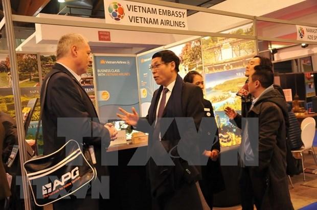 Promociona Vietnam potencialidades turisticas en Belgica hinh anh 1